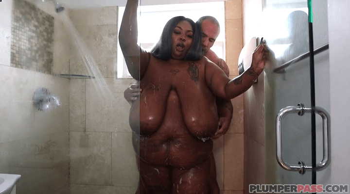 PlumperPass – Zariah June – The Shower With Zariah