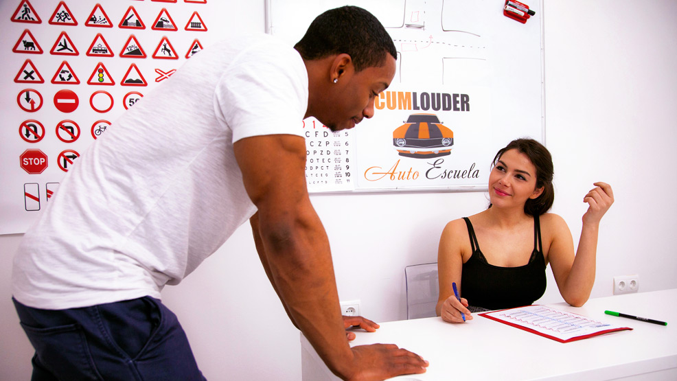 CumloudersDrivingSchool – Valentina Nappi – tests you