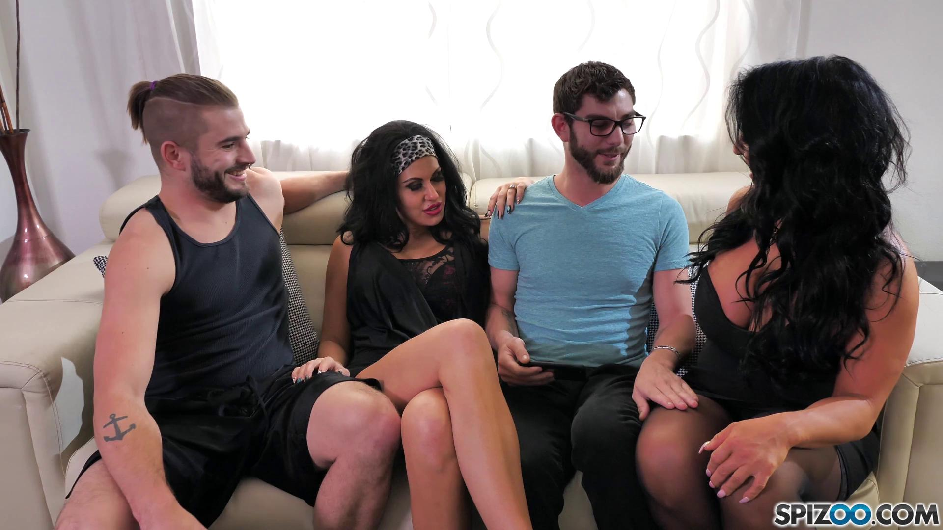 Spizoo – Raven Hart And Savana Styles The Party Family