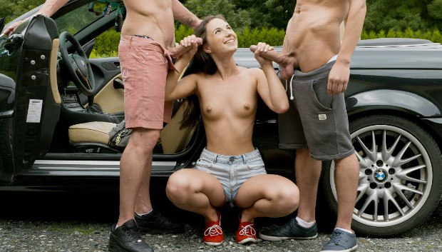 UltraFilms  – The Hottest Hitchhiking – Kristy Black