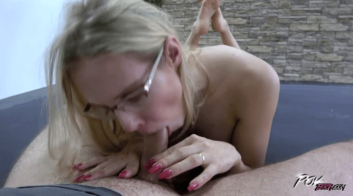 POVBitch:  Busty Blonde Got Pussy Stretched – Florane Russell